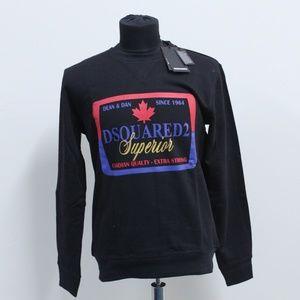 DSQUARED2 Men Black Sweatshirt